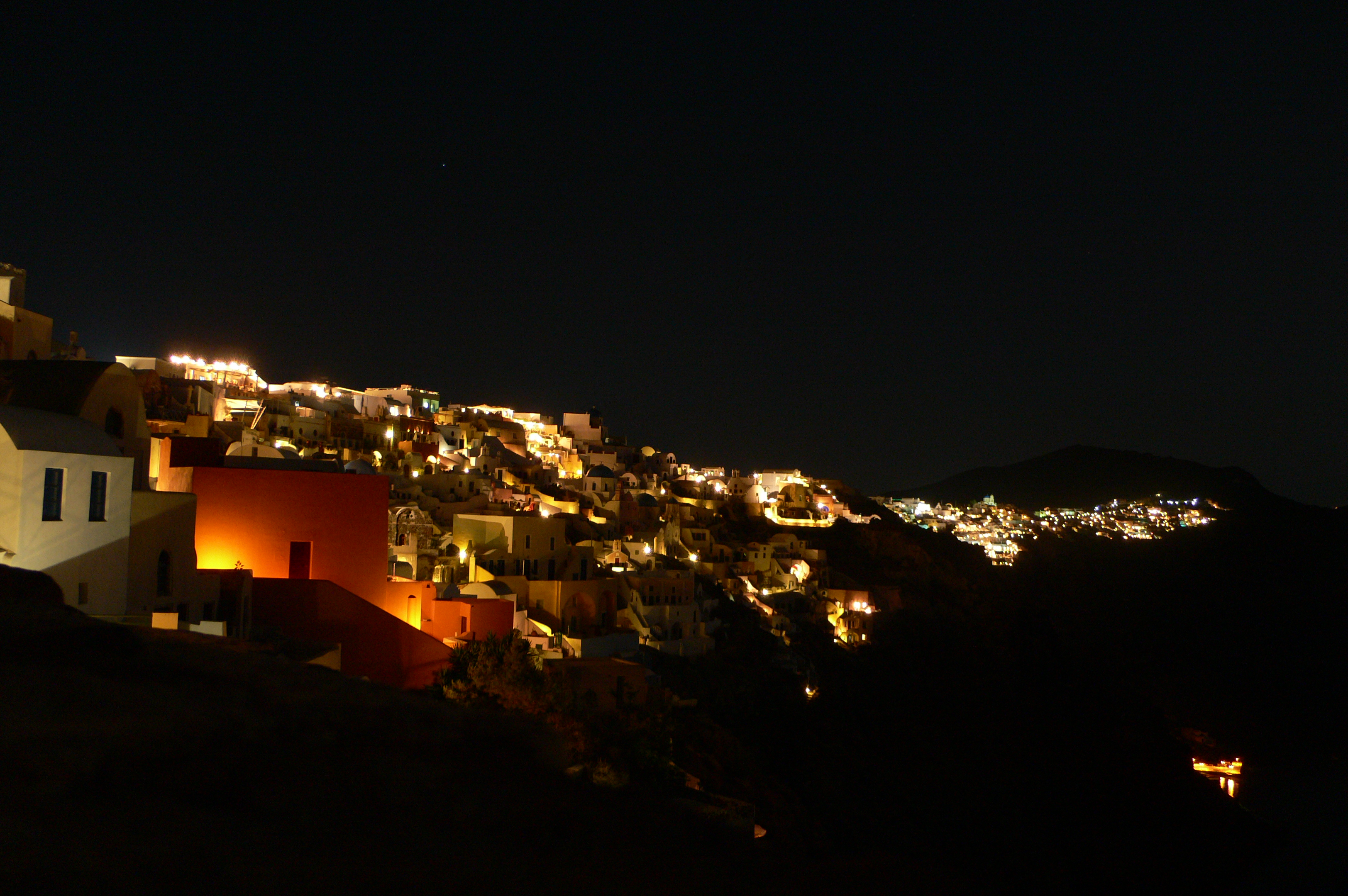 more of oia at night
