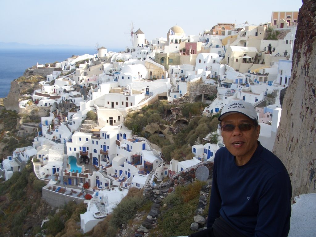 dad in oia