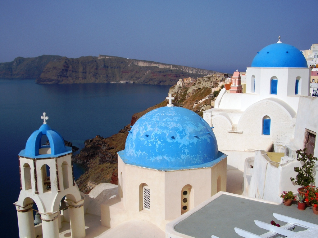 my favorite view of santorini