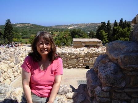 mom at knossos